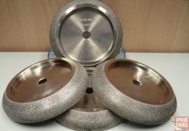 Полнопрофильный боразоновый эльборовый заточной круг для ленточной пилы 150х32,150х20( премиум)