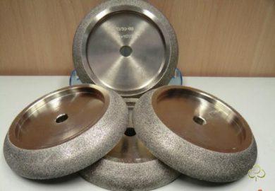 Полнопрофильный боразоновый эльборовый заточной круг для ленточной пилы 150х32 , 150х20 сНДС