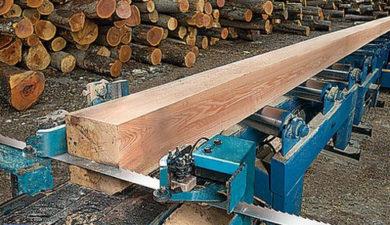 Ленточные пилы для деревообработки